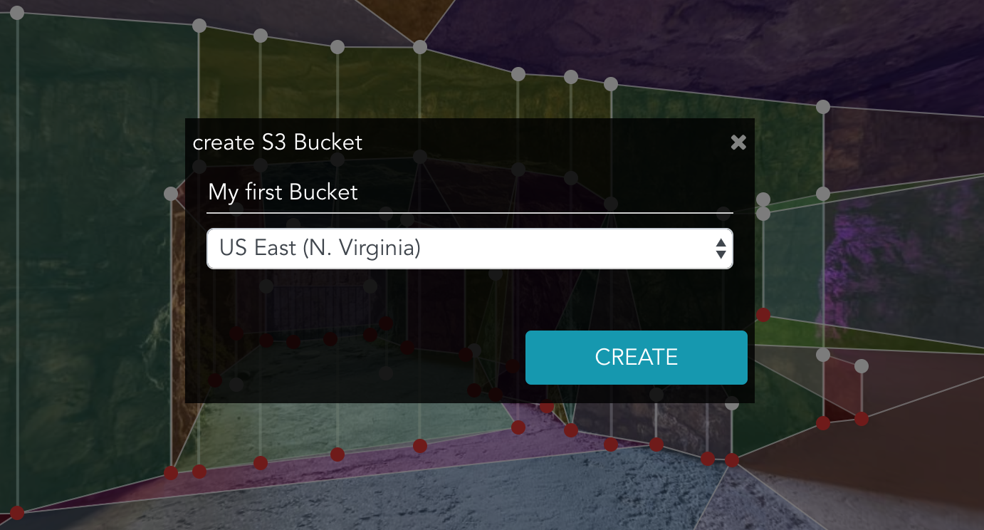 create an S3 bucket
